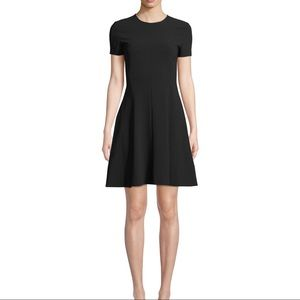 Theory crew neck cocktail dress